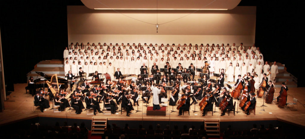 2017年12月24日 生命交響曲 第4楽章 初演の様子